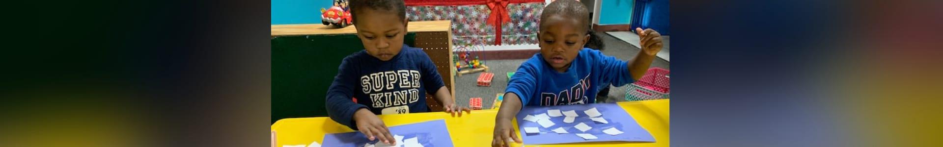kids doing activity